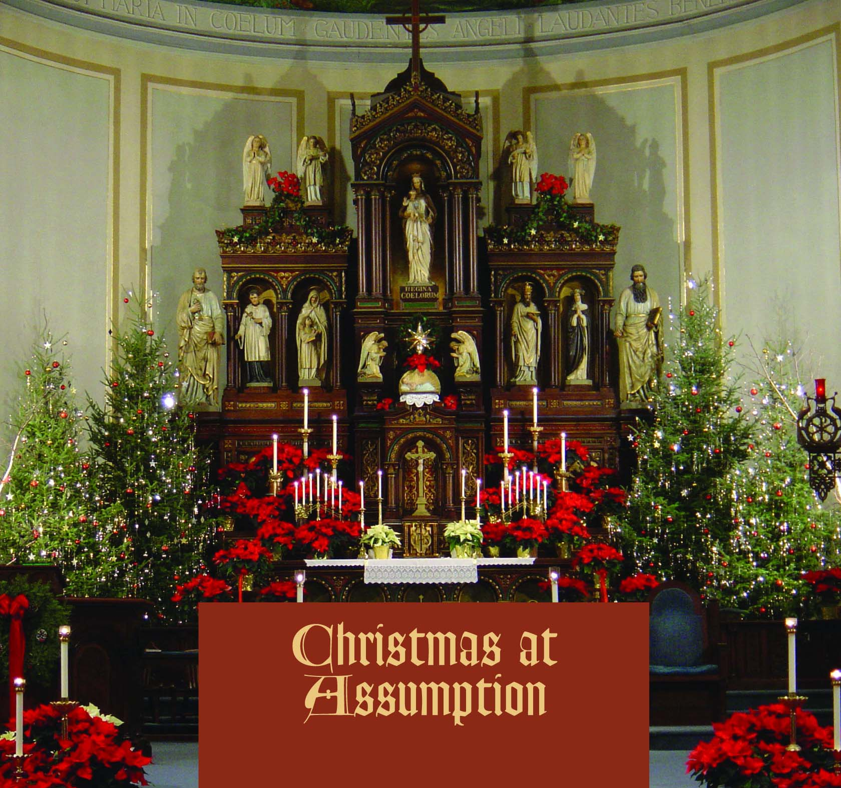 Christmas at Assumption CD cover